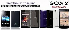 Thay Mặt Kính Điện Thoại Sony Tại Thanh Trì