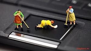 Vệ Sinh Laptop Tại Hà Đông
