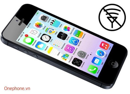 Sửa lỗi wifi iphone 5,5s,5c thay ic wifi, thay angten wifi