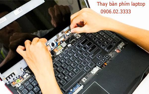 Thay bàn phím laptop tại Hà Đông