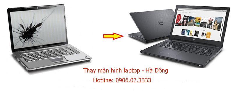 Thay màn hình laptop tại Hà Đông
