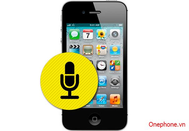 Thay Micro iphone 4,4S